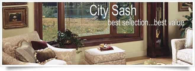 City Sash Exteriors offers options for replacement windows, vinyl siding and more...