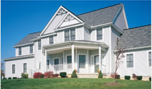 Energy efficient vinyl siding.