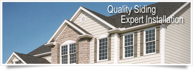 Quality vinyl siding and roofing products from City Sash Home Improment